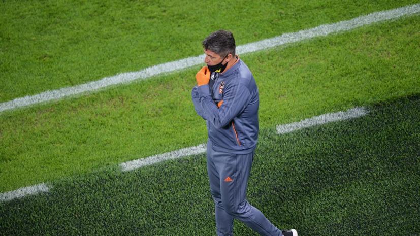 Тренер «Урала» назвал серьёзным ударом разгромное поражение в матче с «Краснодаром»