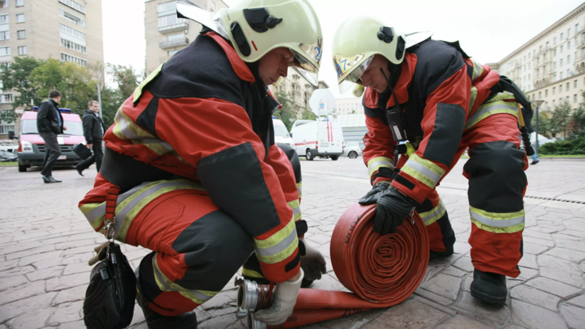 В центре Ростова-на-Дону произошёл пожар в жилом доме