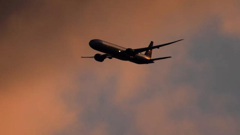 Подавший сигнал тревогисамолёт успешно приземлился в Домодедове