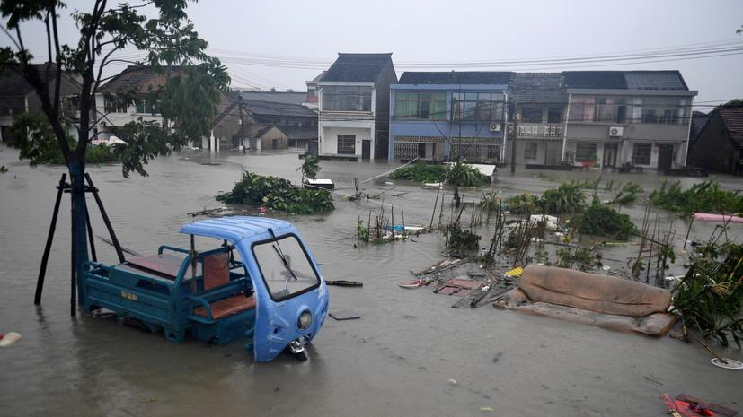 Число погибших из-за наводнения в Китае возросло до 69