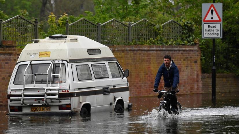 Синоптик прокомментировал сообщения о подтоплениях в Лондоне