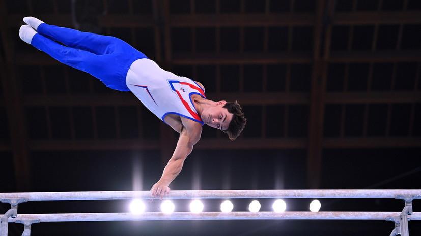 Мужская сборная России по спортивной гимнастике выиграла ОИ в многоборье впервые с 1996 года