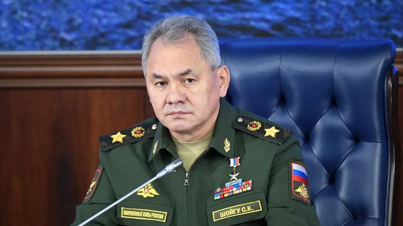 Шойгу провёл переговоры с главой оборонного ведомства Армении