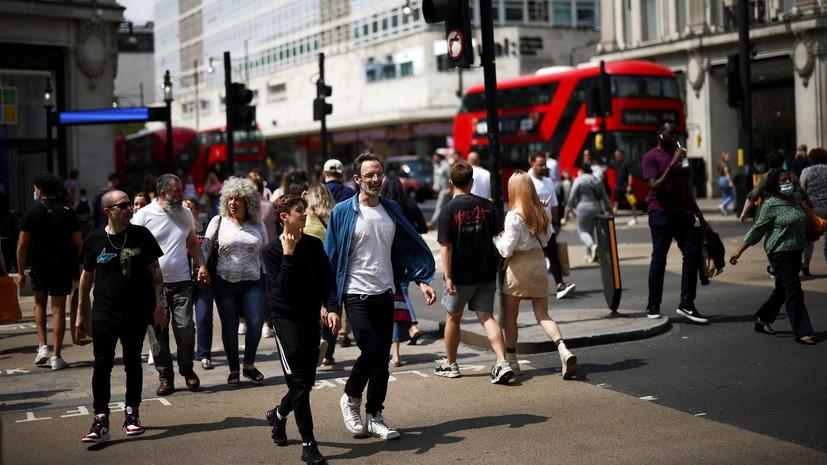 В Британии за сутки выявили более 24 тысяч случаев коронавируса