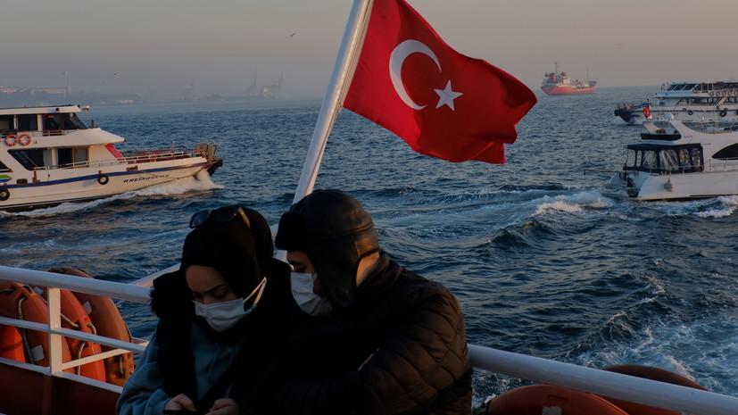 В Турции за сутки выявили более 16 тысяч случаев коронавируса