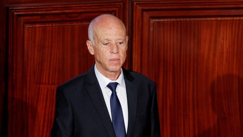 Президент Туниса ввёл в стране комендантский час
