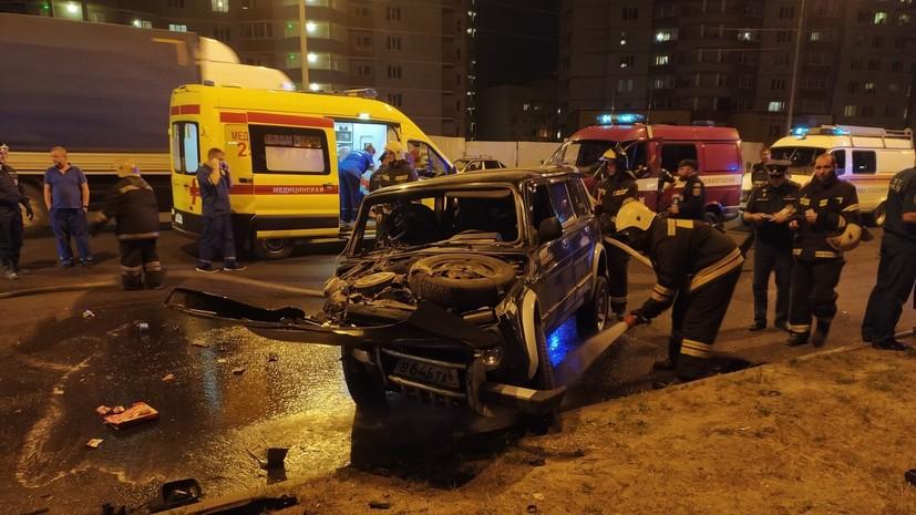 В результате ДТП в Воронеже погиб ребёнок
