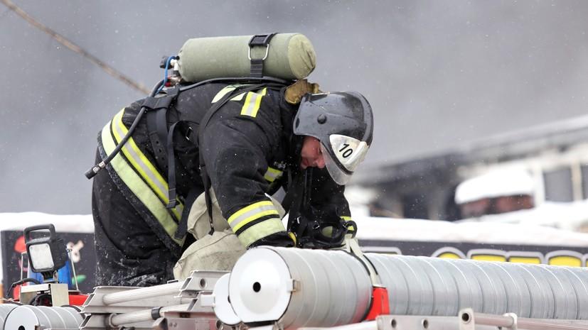 В Нефтеюганске произошёл пожар в жилом доме