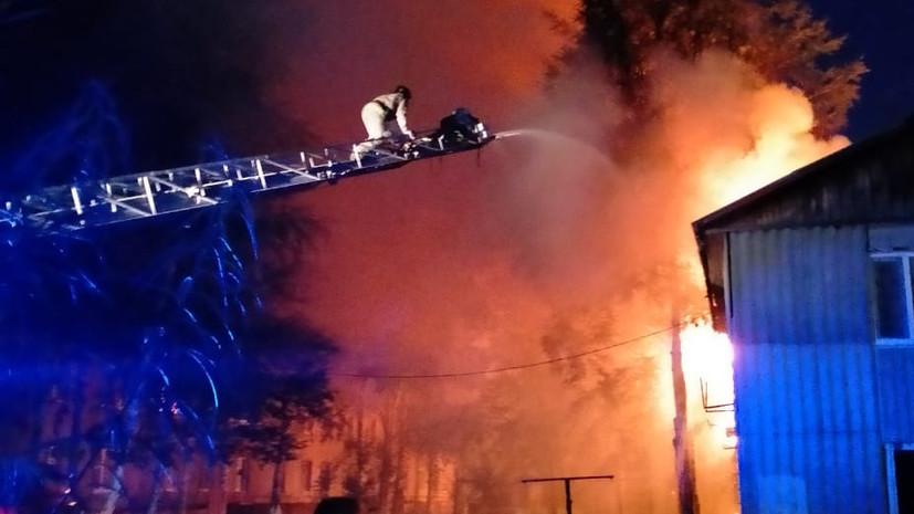 Пожар в жилом доме в Нефтеюганске ликвидирован