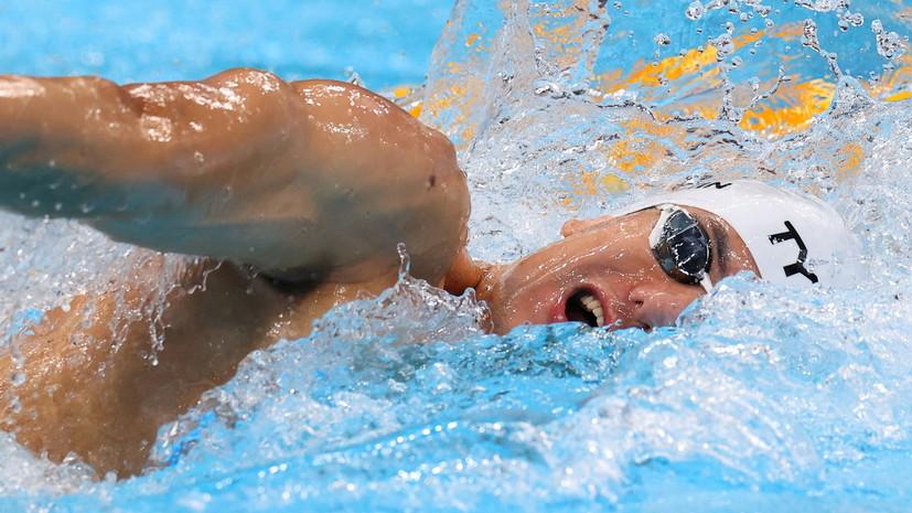 Пловец Малютин стал пятым в финале ОИ на дистанции 200 м вольным стилем