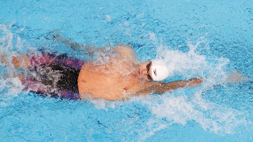 Рылов завоевал золото ОИ в плавании на 100 м на спине, у Колесникова — серебро