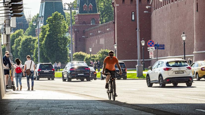 В Москве 27 июля ожидается до +29 °С