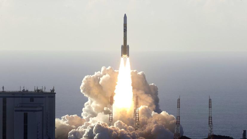 Япония провела успешное испытание ракеты с новым двигателем
