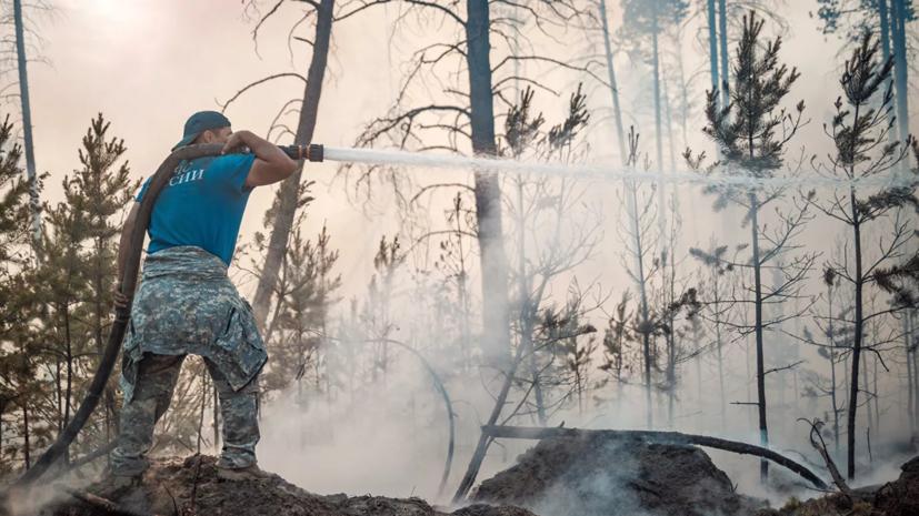 В МЧС Якутии рассказали о ситуации с лесными пожарами в регионе