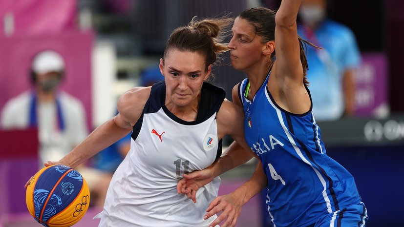 Женская сборная России по баскетболу 3×3 вышла в полуфинал ОИ в Токио