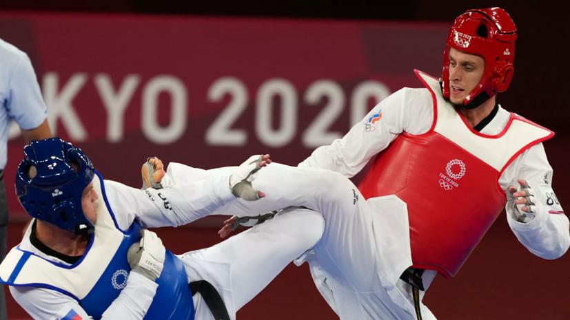 Тхэквондист Ларин завоевал золото Олимпиады в Токио