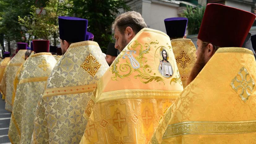 В Киеве прошёл крестный ход по случаю годовщины Крещения Руси
