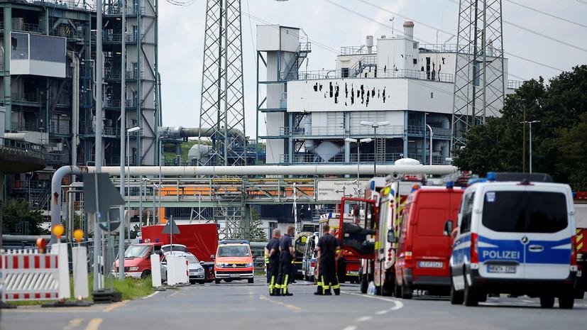 Число пострадавших при взрыве и пожаре в Леверкузене превысило 30