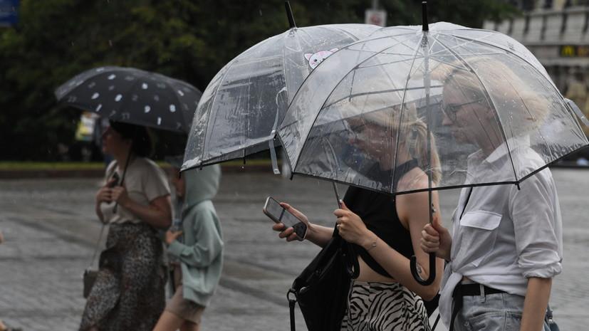 В Гидрометцентре прогнозируют ливни и град в ряде регионов России