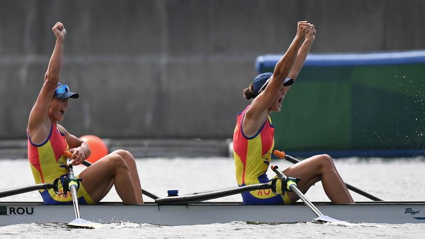 Румынки Боднар и Радиш выиграли золото ОИ в академической гребле в двойках