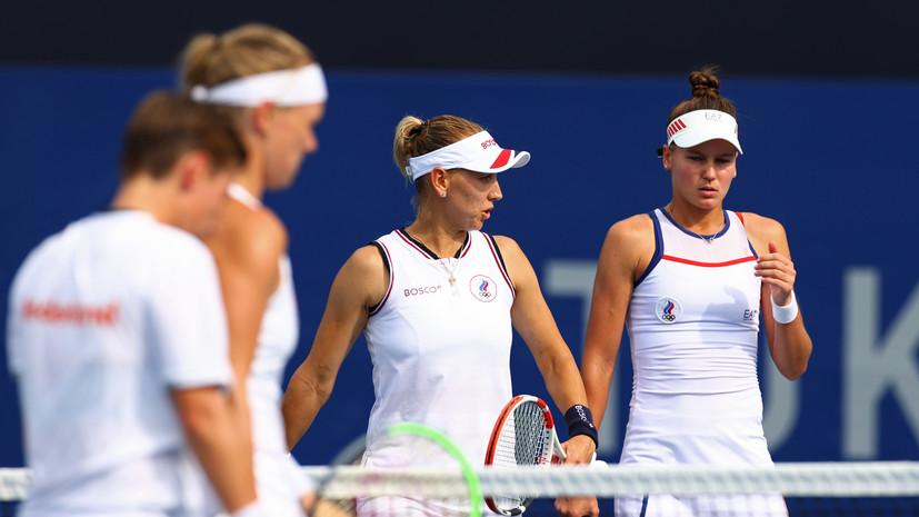 Веснина и Кудерметова вышли в полуфинал парного турнира по теннису на ОИ в Токио