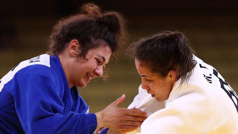 Таймазова вышла в полуфинал турнира по дзюдо на ОИ в Токио