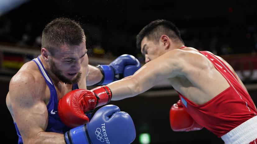 Хатаев вышел в четвертьфинал турнира по боксу на ОИ в Токио