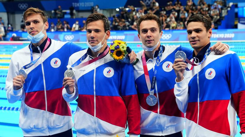 Серебряное счастье: как Россия выиграла медаль в главной плавательной эстафете Олимпиады в Токио