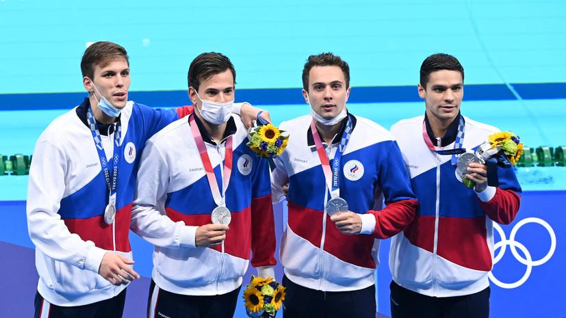Гирёв поделился эмоциями от завоевания серебра ОИ в эстафете 4 × 200 м вольным стилем