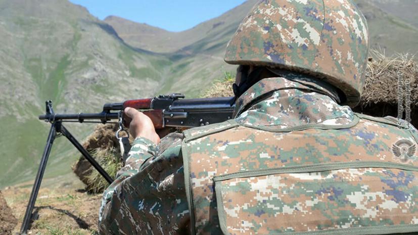 В Баку заявили, что приняли инициативу России о прекращении огня