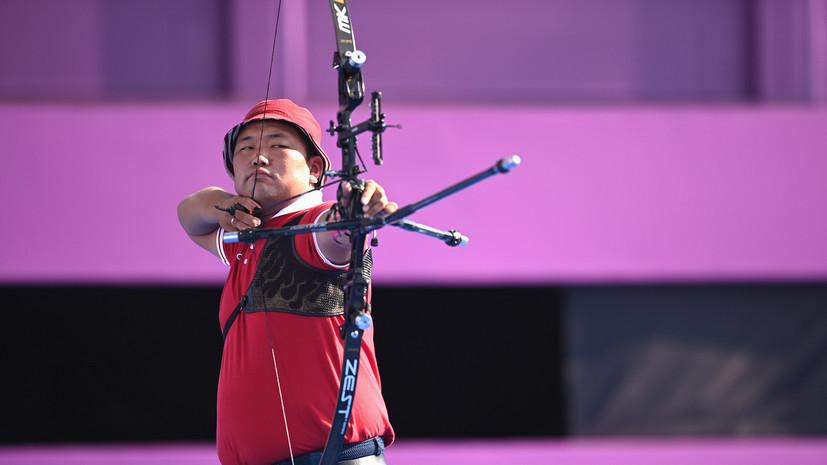 Лучник Базаржапов не вышел в 1/16 финала Олимпиады