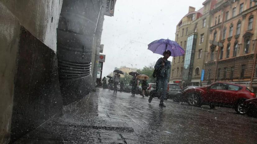 В Петербурге 28 июля ожидается гроза с дождём