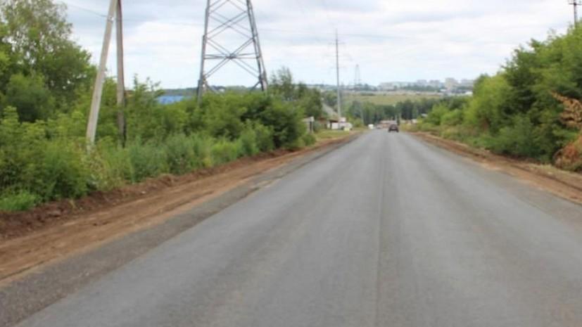 В рамках нацпроекта на дорогах Удмуртии выполнили 57% ремонтных работ