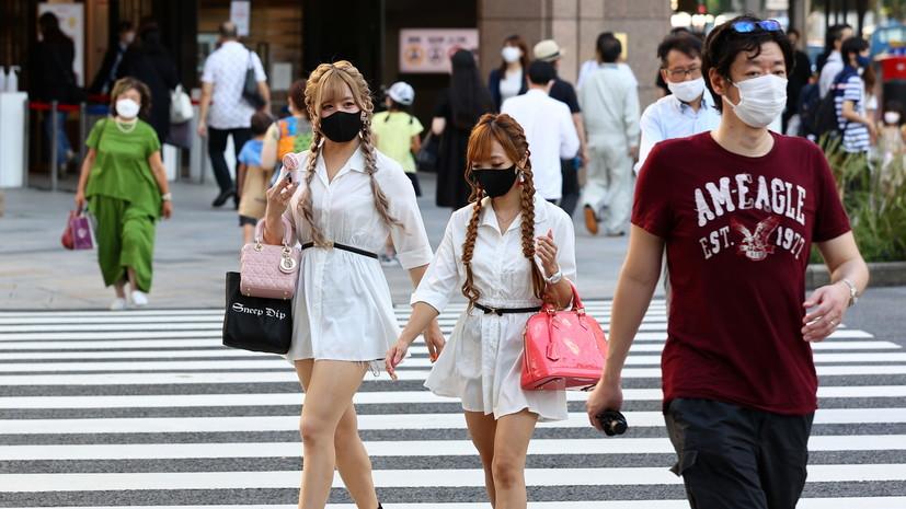 В Токио за сутки выявили 3177 случаев коронавируса