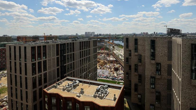 Число новостроек-небоскрёбов в Москве выросло в 2,5 раза за год