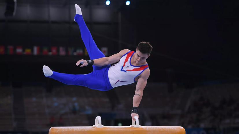 Гимнаст Нагорный завоевал бронзу Олимпиады в личном многоборье
