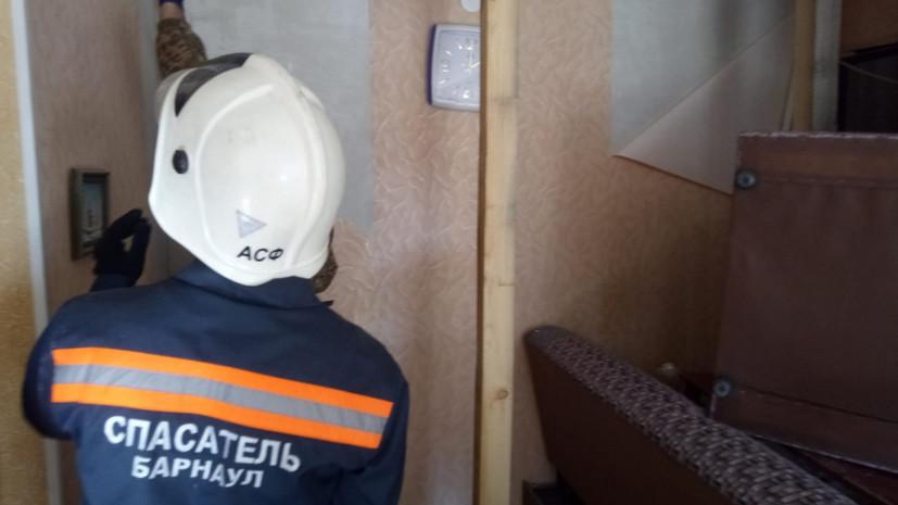 Власти Барнаула выделят 5 млн рублей на ремонт пострадавшего при ЧП дома