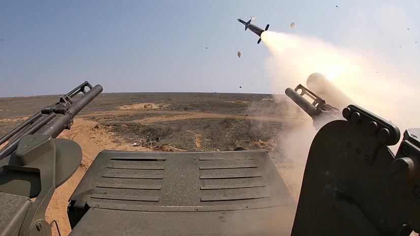 Сирийская ПВО уничтожила БПЛА боевиков с помощью комплекса «Панцирь-С»