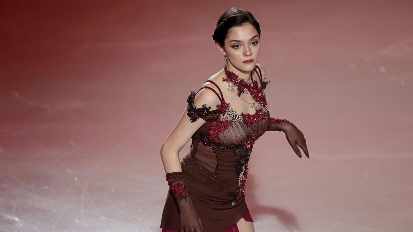 Медведева назвала отличие спорта от шоу-бизнеса