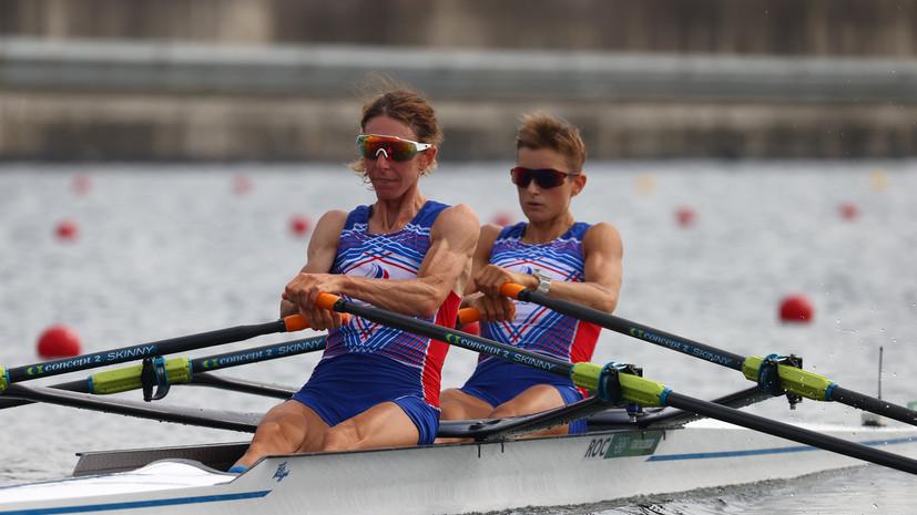 Гребцы Боталова и Лебедева заняли третье место в утешительном финале на ОИ в Токио