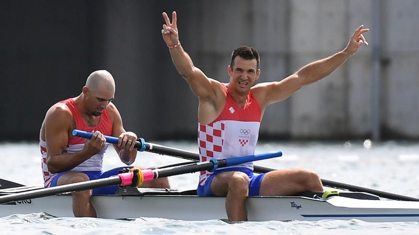 Хорватские гребцы выиграли золото ОИ в двойках