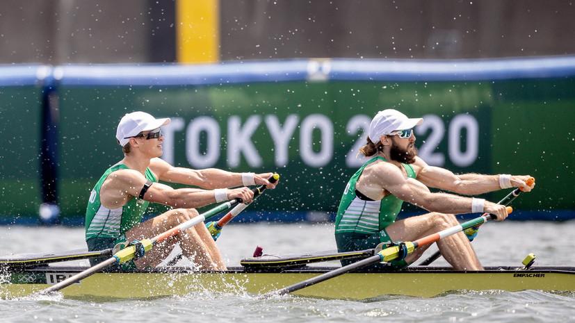 Ирландские гребцы выиграли золото ОИ в парных двойках
