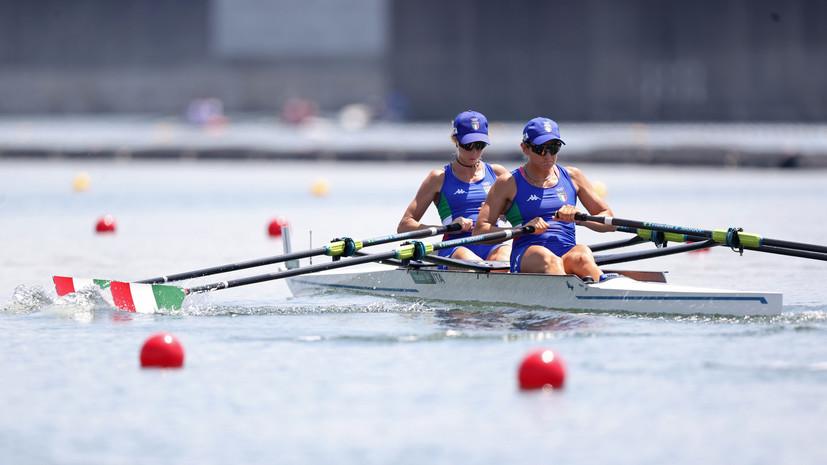Итальянки завоевали золото ОИ в парных двойках у женщин