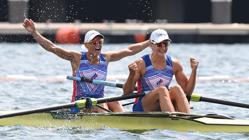 Пятёрка за двойку: Степанова и Орябинская сенсационно выиграли серебро в гребле на Олимпиаде в Токио