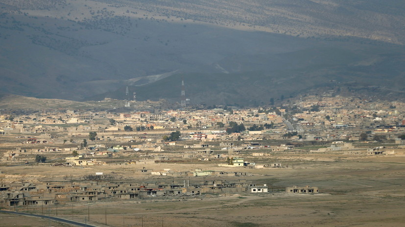Пять человек погибли при крушении вертолёта на северо-востоке Ирака