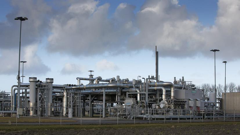 Спотовая цена газа в Европе превысила $480 за 1000 кубометров