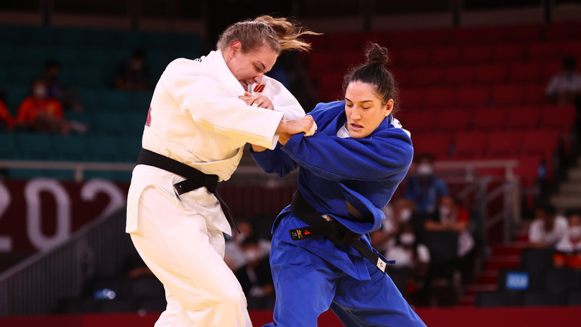 Дзюдоистка Бабинцева выбыла из борьбы за бронзу Олимпиады в Токио в категории до 78 кг