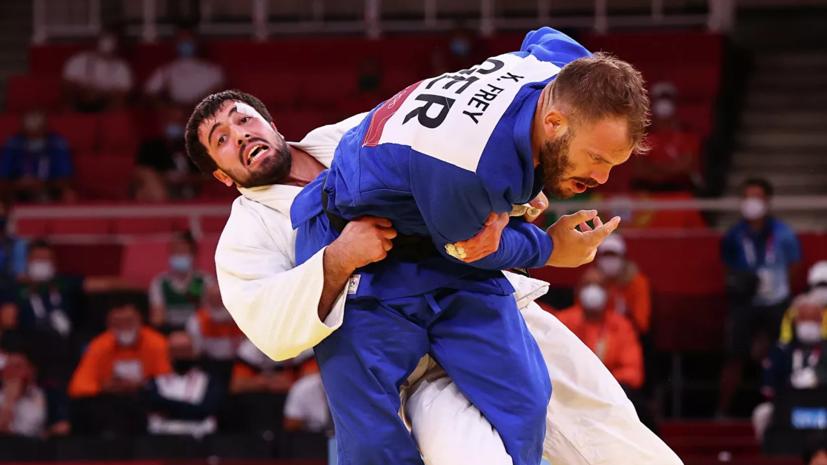Дзюдоист Ильясов завоевал бронзу Олимпиады в весе до 100 кг