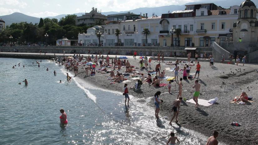 Все пляжи в Ялте открыли для купания после паводка в июне