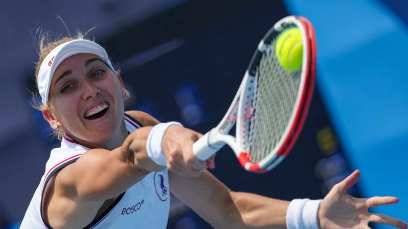 Веснина и Карацев пробились в полуфинал теннисного турнира в миксте на ОИ